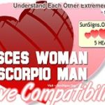 Pisces Woman Scorpio Man bonds well with each other