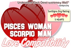 pisces woman scorpio man