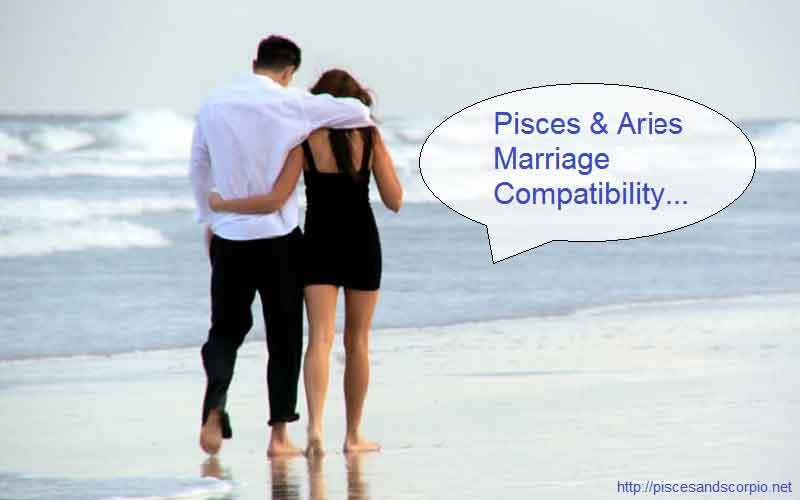 Pisces and Aries Marriage Compatibility