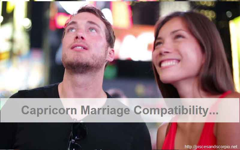 Capricorn Marriage Compatibility