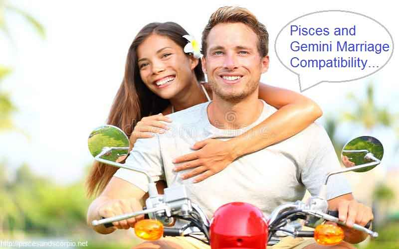 Pisces and Gemini Marriage Compatibility