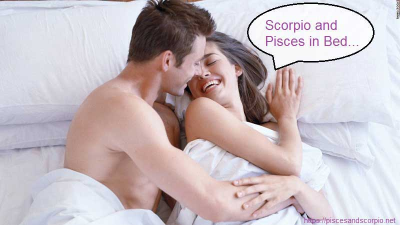 Scorpio and Pisces in Bed