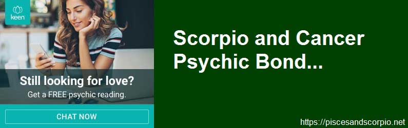 Scorpio and Cancer Psychic Bond